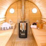 Fass Sauna Impressionen
