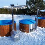 Hot Tub im Schnee